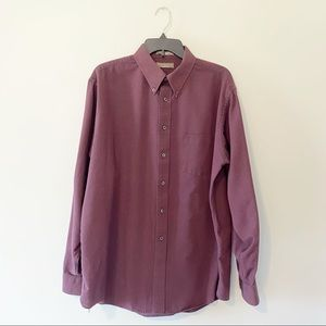 Claybrooke Button Down Long Sleeved Dress Shirt